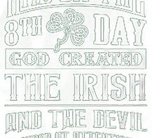 St. Patrick's Day Shirt  by HotTShirts