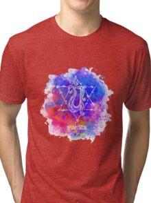 Anahata Chakra Symbol Tri-blend T-Shirt