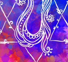 Anahata Chakra Symbol Sticker