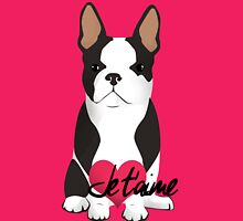 Je t'aime Frenchie  Womens Fitted T-Shirt