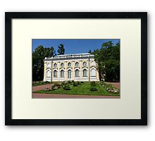 chateau Baroque Framed Print