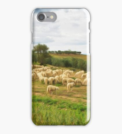 Italian sheep! iPhone Case/Skin