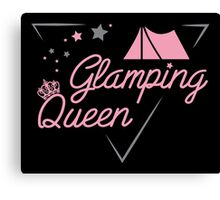 Glamping Queen Canvas Print