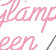 Glamping Queen Sticker