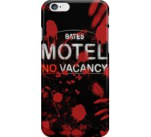 Bloody Bates Motel iPhone Case/Skin