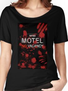 Bloody Bates Motel Women's Relaxed Fit T-Shirt