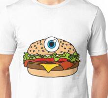 Cyclops Burger Pink Unisex T-Shirt