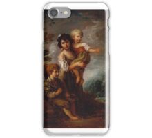 Gainsborough Dupont  Title Cottage Children iPhone Case/Skin