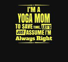 Yoga Mom Unisex T-Shirt