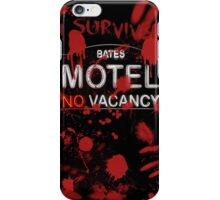 I Survived Bloody Bates Motel iPhone Case/Skin