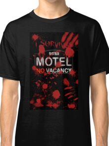I Survived Bloody Bates Motel Classic T-Shirt