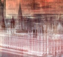 Digital-Art LONDON Westminster Sticker
