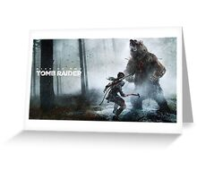 Tomb raider Rise of the tomb raider Greeting Card