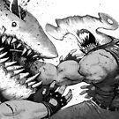 FISH FIGHT! by Austen Mengler