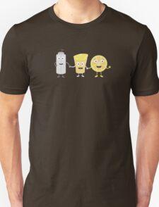 Salt, lemon and tequila Unisex T-Shirt