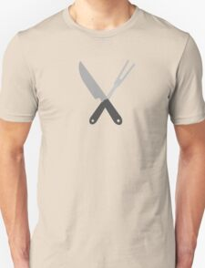 knife and fork T-Shirt