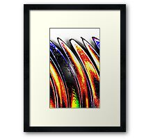 AB45 Abstract Framed Print