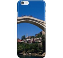 Mostar in Bosnia and Herzegovina iPhone Case/Skin