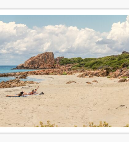 Castle Rock Beach, Dunsborough, Western Australia Sticker