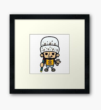 Law One Piece Framed Print