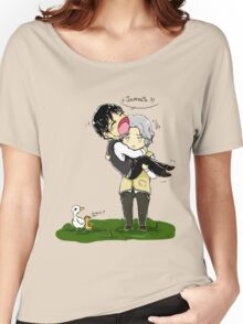 Heronstairs and ducks Women's Relaxed Fit T-Shirt