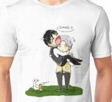 Heronstairs and ducks Unisex T-Shirt