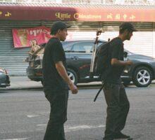 Skating through Chinatown Sticker