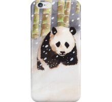 Panda In The Snow iPhone Case/Skin