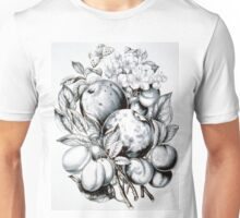 Apples and Plums - first premium - 1870 - Currier & Ives Unisex T-Shirt