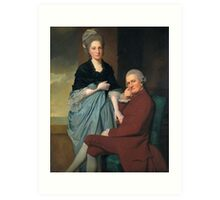 George Romney - Mr and Mrs William Lindow, Tate Britain Art Print