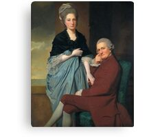 George Romney - Mr and Mrs William Lindow, Tate Britain Canvas Print