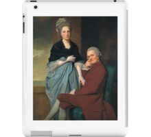 George Romney - Mr and Mrs William Lindow, Tate Britain iPad Case/Skin