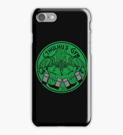 Cthulhu's gym iPhone Case/Skin