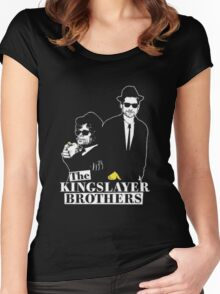 The kings layer brothers- Game of Thrones Women's Fitted Scoop T-Shirt
