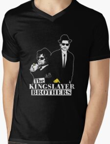 The kings layer brothers- Game of Thrones Mens V-Neck T-Shirt