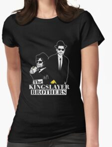 The kings layer brothers- Game of Thrones Womens Fitted T-Shirt