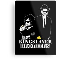The kings layer brothers- Game of Thrones Metal Print