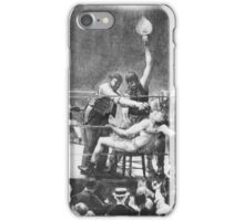 George Wesley Bellows  BETWEEN ROUNDS iPhone Case/Skin