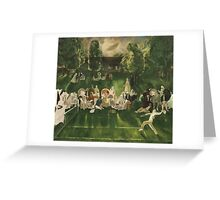 George Wesley Bellows , TENNIS TOURNAMENT Greeting Card
