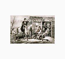 Arkansas Traveller - scene in the back woods of Arkansas - 1870 - Currier & Ives T-Shirt