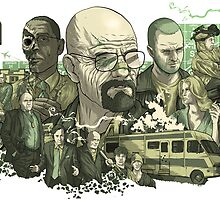 Breaking Bad Art by CyanidePie