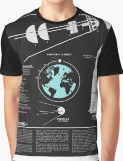 SPUTNIK-1 Infographics  Graphic T-Shirt