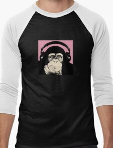 Monkey Music Men's Baseball ¾ T-Shirt