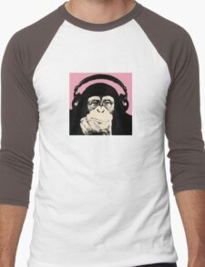 Monkey Music Men's Baseball ¾ T-Shirt