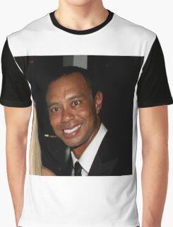 Tiger Woods - Drunk Smile Meme Funny Graphic T-Shirt