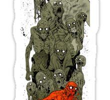 Walking Dead art Sticker