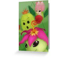 Palmon Greeting Card