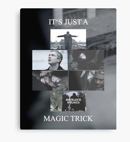 Magic Trick Metal Print