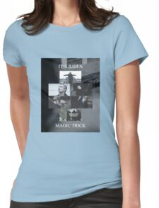 Magic Trick Womens Fitted T-Shirt