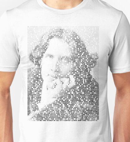 Oscar Wilde Quotes Unisex T-Shirt